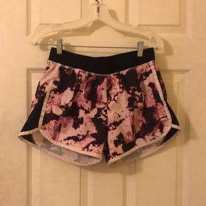 patterned pink champion shorts